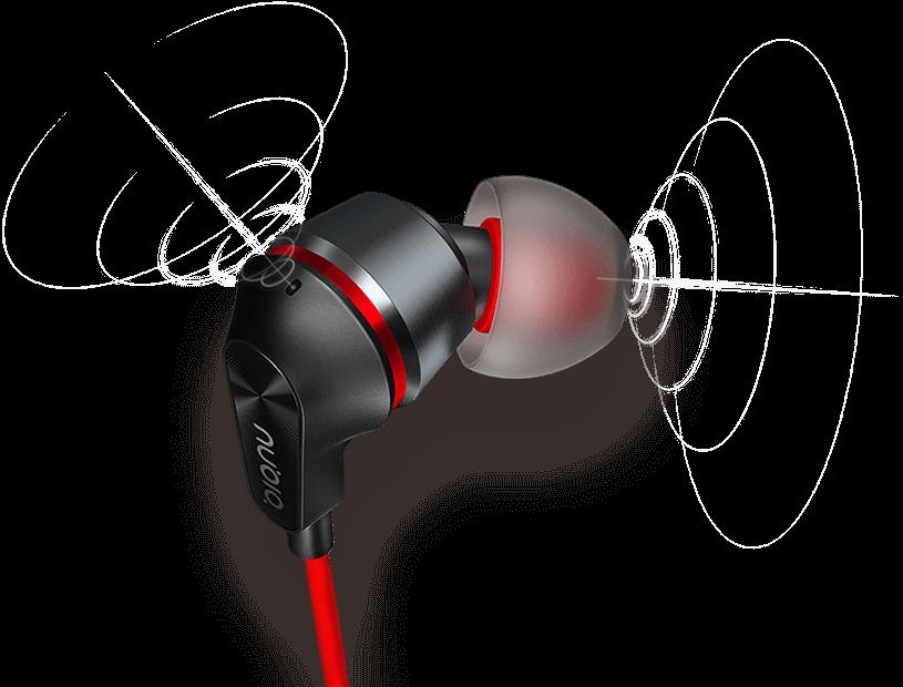 nubia earphone hybrid in ear earphone